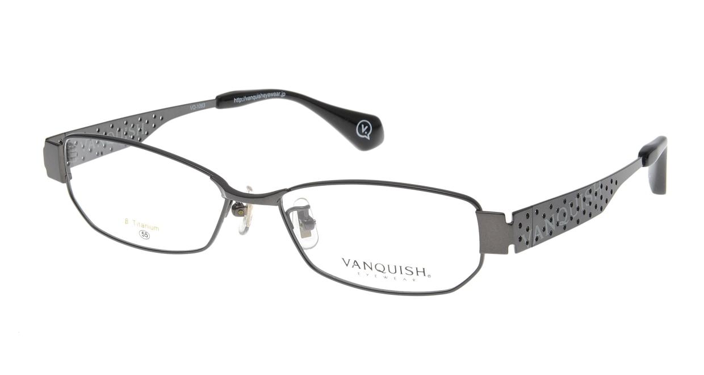 ヴァンキッシュ VQ-1063-C-1-GR [メタル/スクエア/グレー]