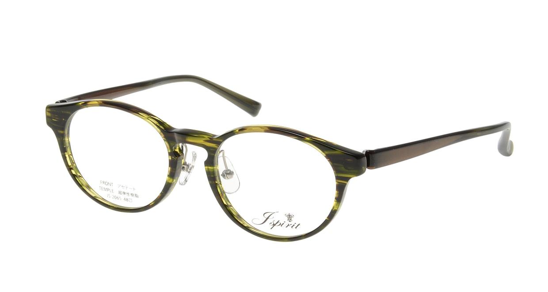 ジェイスピリット JS-2065-7-48 [鯖江産/丸メガネ/緑]