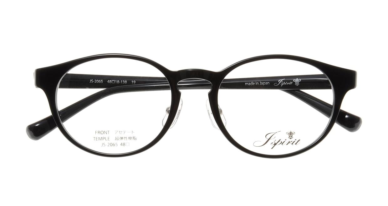 ジェイスピリット JS-2065-19-48 [黒縁/鯖江産/丸メガネ]  3