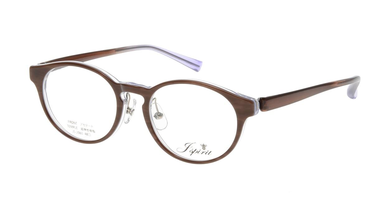 ジェイスピリット JS-2065-24-48 [鯖江産/丸メガネ/茶色]