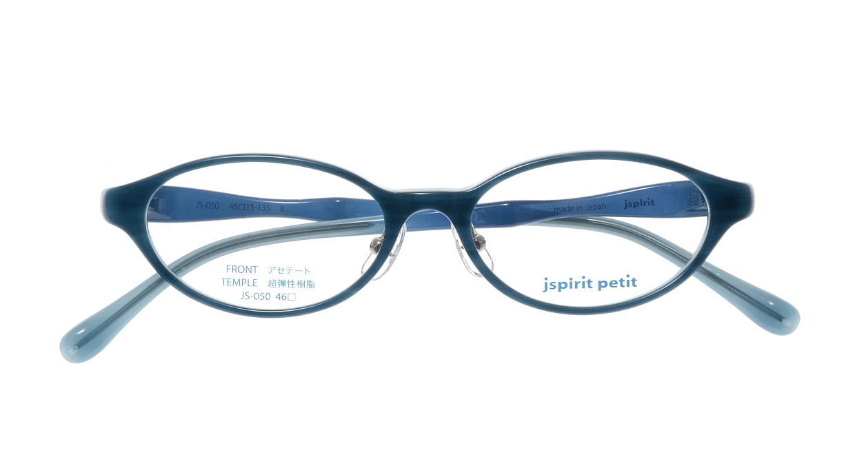 ジェイスピリット JS-050-8-46 [鯖江産/オーバル/青]  3