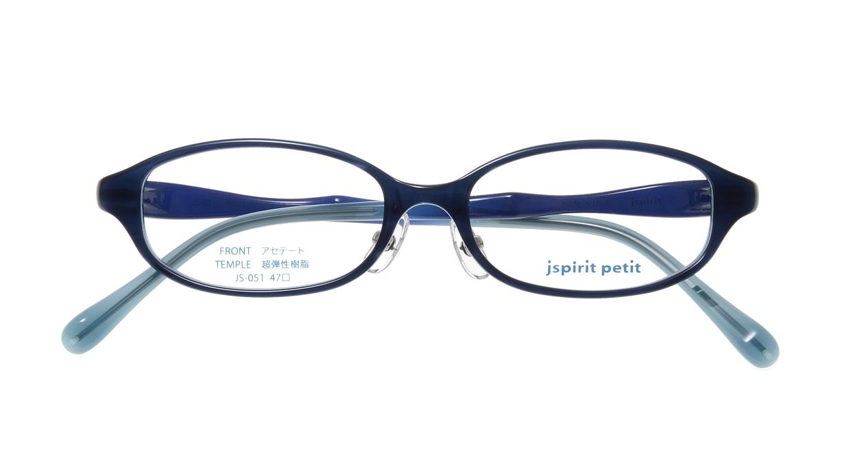 ジェイスピリット JS-051-18-47 [鯖江産/オーバル/青]  3