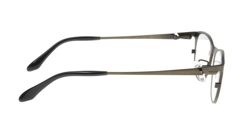 アミパリ TP-8501-7-51 [メタル/鯖江産/ウェリントン/緑]  1