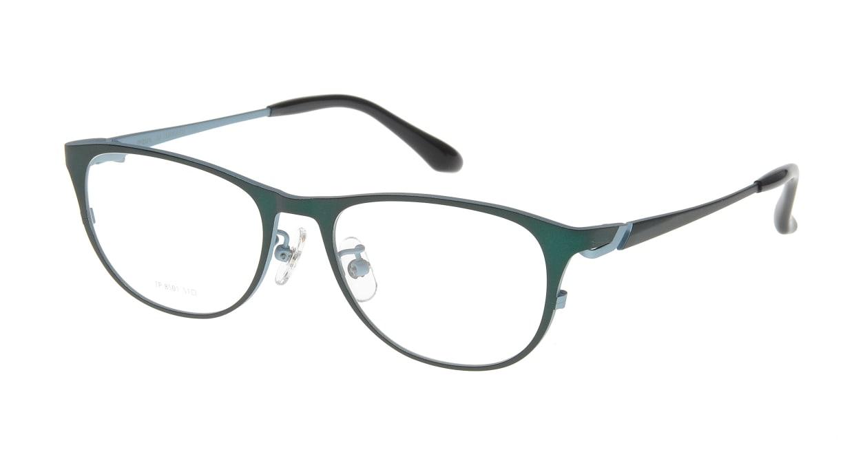 アミパリ TP-8501L-17-51 [メタル/鯖江産/ウェリントン/緑]
