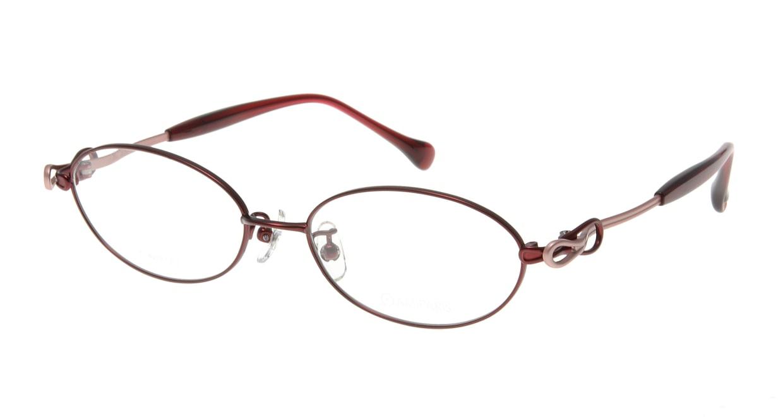 アミパリ TS-8010-6-52 [メタル/鯖江産/オーバル/赤]