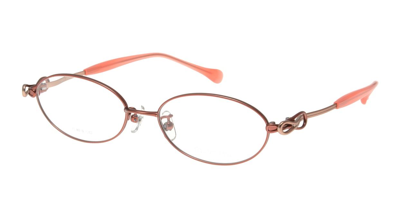 アミパリ TS-8010-10-52 [メタル/鯖江産/オーバル/ピンク]