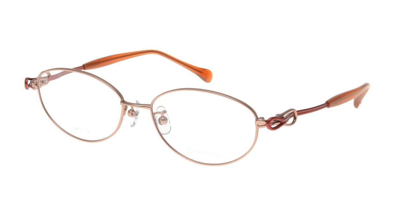 アミパリ TS-8012-1-53 [メタル/鯖江産/オーバル/ピンク]
