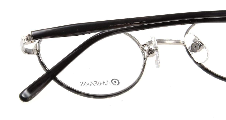 アミパリ TC-5167-92-46 [メタル/鯖江産/丸メガネ/グレー]  4