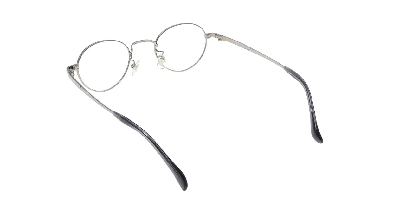 Oh My Glasses TOKYO John omg-012 2-44 [メタル/鯖江産/丸メガネ/シルバー]  2
