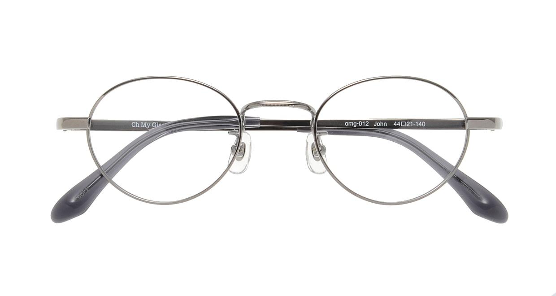 Oh My Glasses TOKYO John omg-012 2-44 [メタル/鯖江産/丸メガネ/シルバー]  3