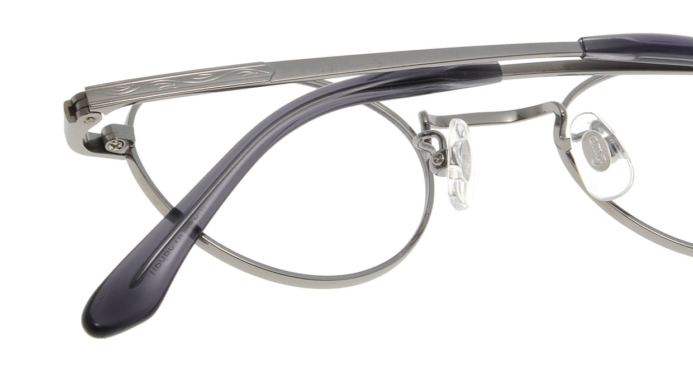 Oh My Glasses TOKYO John omg-012 2-44 [メタル/鯖江産/丸メガネ/シルバー]  4