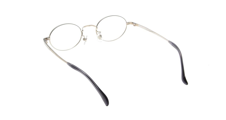 Oh My Glasses TOKYO Charlie omg-014 2-45 [メタル/鯖江産/オーバル/シルバー]  2