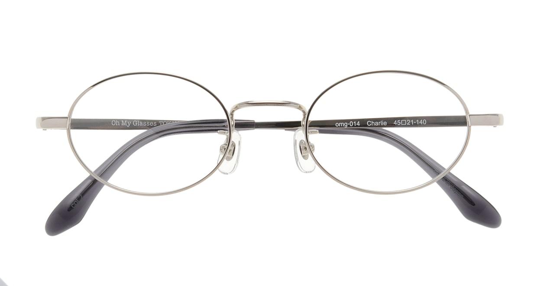 Oh My Glasses TOKYO Charlie omg-014 2-45 [メタル/鯖江産/オーバル/シルバー]  3