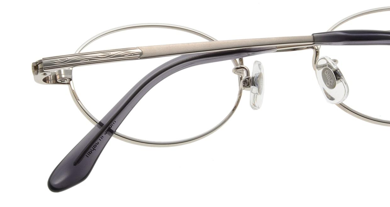 Oh My Glasses TOKYO Charlie omg-014 2-45 [メタル/鯖江産/オーバル/シルバー]  4