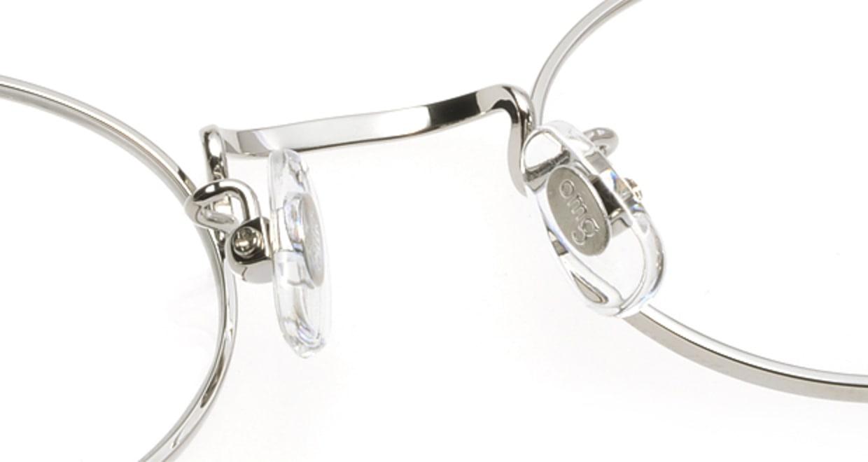 Oh My Glasses TOKYO Charlie omg-014 2-45 [メタル/鯖江産/オーバル/シルバー]  6
