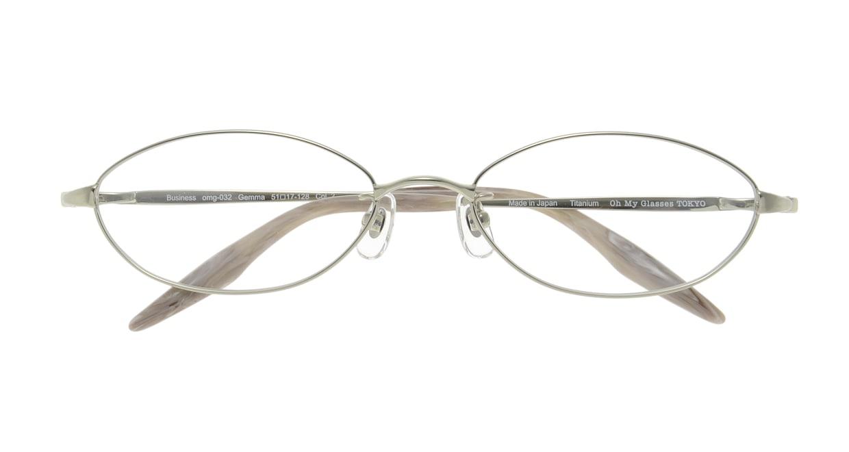 Oh My Glasses TOKYO Gemma omg-032 2-51 [メタル/鯖江産/オーバル/緑]  3