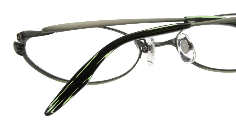 Oh My Glasses TOKYO Jacqueline omg-033 3-52 [メタル/鯖江産/オーバル/緑]  5