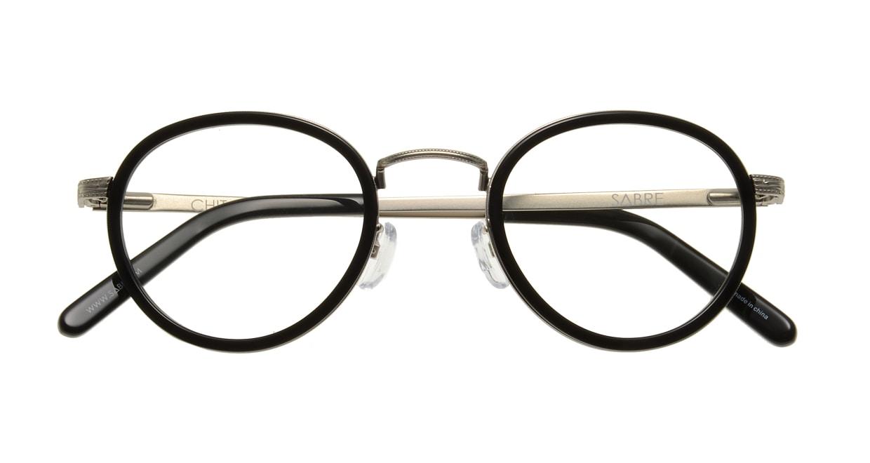 セイバー CHIT-CHAT SV241-13812J [黒縁/丸メガネ]  3
