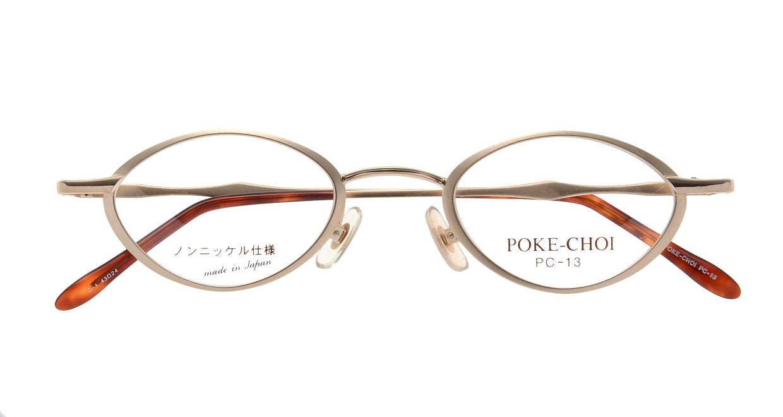 ポケチョイ PC-13-C-1 [メタル/オーバル/安い/ゴールド]  3