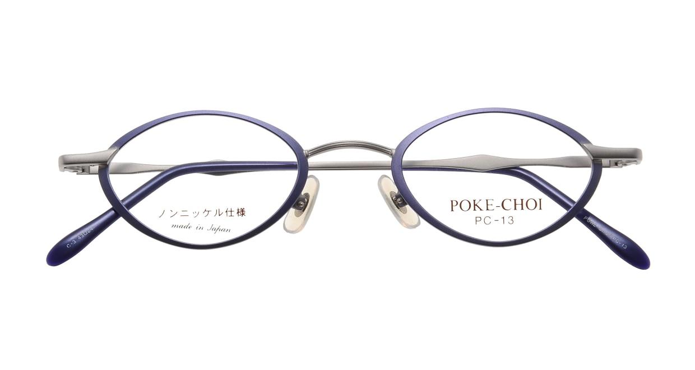 ポケチョイ PC-13-C-3 [メタル/オーバル/安い/紫]  3