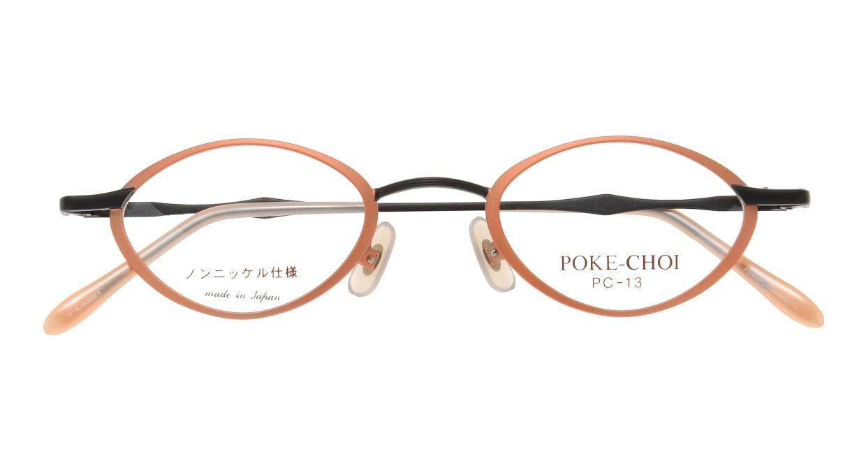 ポケチョイ PC-13-C-6 [メタル/オーバル/安い/オレンジ]  3