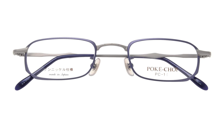 ポケチョイ PC-14-C-3 [メタル/スクエア/安い/紫]  3