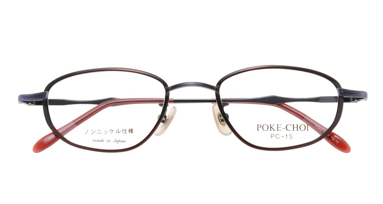ポケチョイ PC-15-C-9 [メタル/オーバル/安い/赤]  3