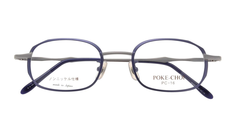 ポケチョイ PC-16-C-3 [メタル/スクエア/安い/紫]  3