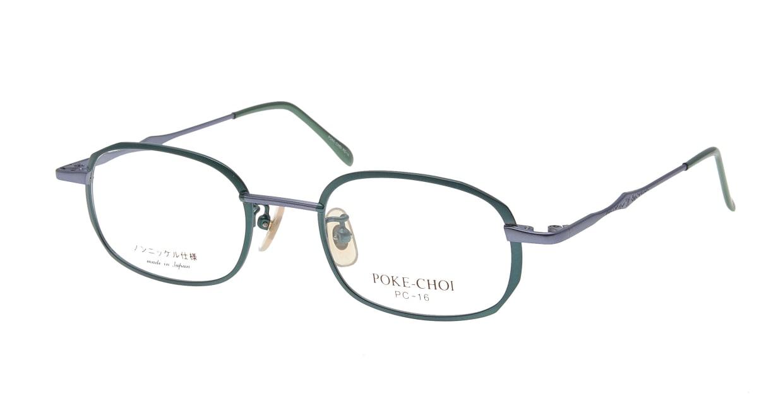 ポケチョイ PC-16-C-4 [メタル/スクエア/安い/緑]