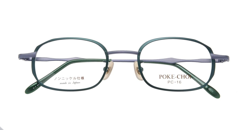 ポケチョイ PC-16-C-4 [メタル/スクエア/安い/緑]  3