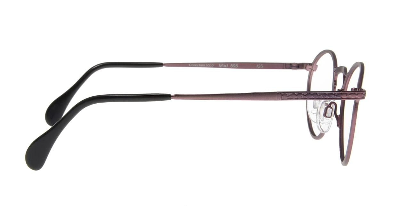 コレクション2000 595-F01 [メタル/丸メガネ/紫]  1