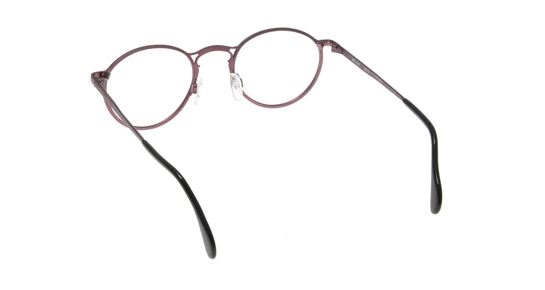コレクション2000 595-F01 [メタル/丸メガネ/紫]  2