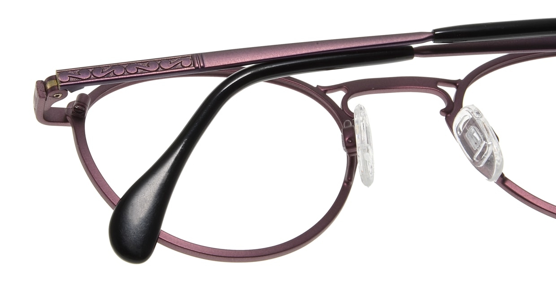 コレクション2000 595-F01 [メタル/丸メガネ/紫]  5