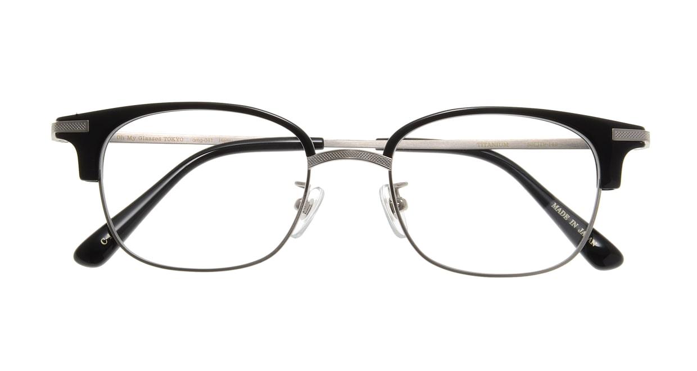Oh My Glasses TOKYO Henry omg-041 1-50 [黒縁/鯖江産/ウェリントン]  3