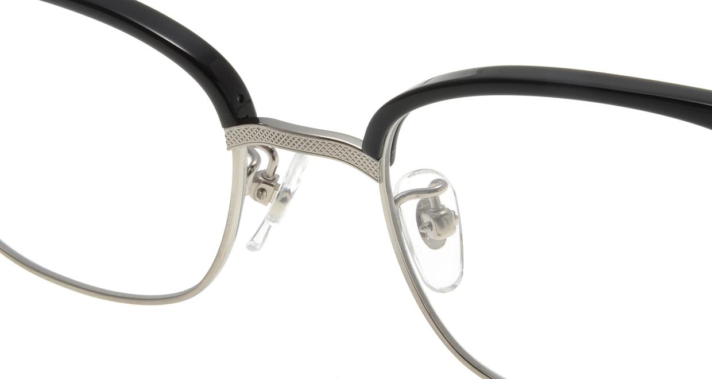 Oh My Glasses TOKYO Henry omg-041 1-50 [黒縁/鯖江産/ウェリントン]  4