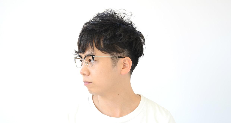 Oh My Glasses TOKYO Henry omg-041 1-50 [黒縁/鯖江産/ウェリントン]  7