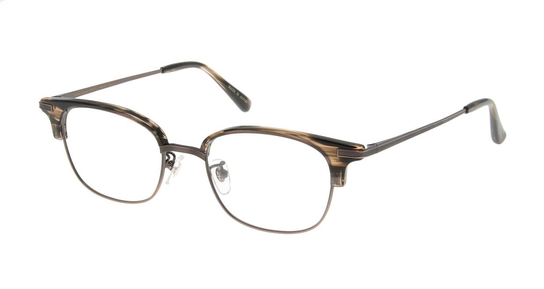 Oh My Glasses TOKYO Henry omg-041 3-50 [鯖江産/ウェリントン/茶色]