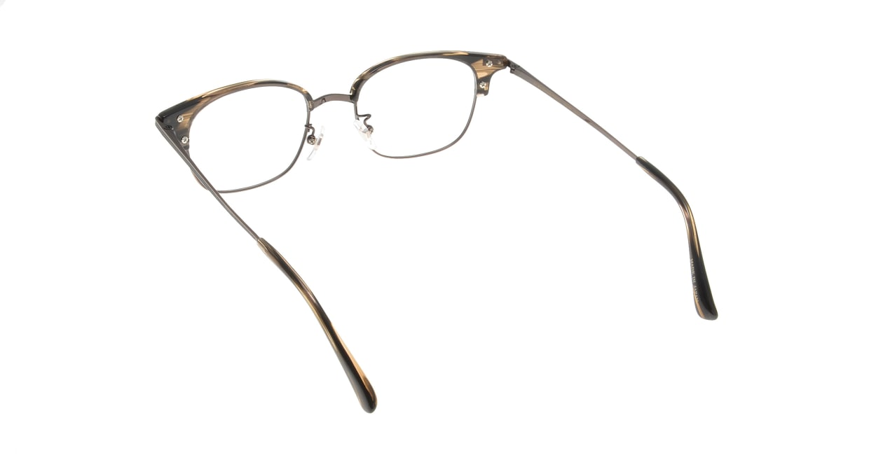 Oh My Glasses TOKYO Henry omg-041 3-50 [鯖江産/ウェリントン/茶色]  2