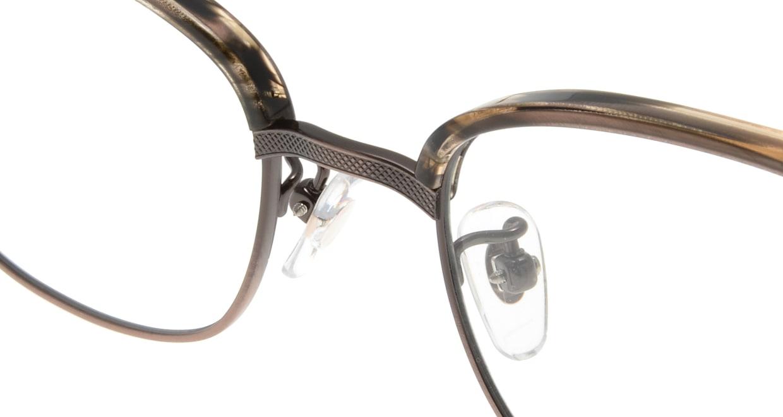 Oh My Glasses TOKYO Henry omg-041 3-50 [鯖江産/ウェリントン/茶色]  4