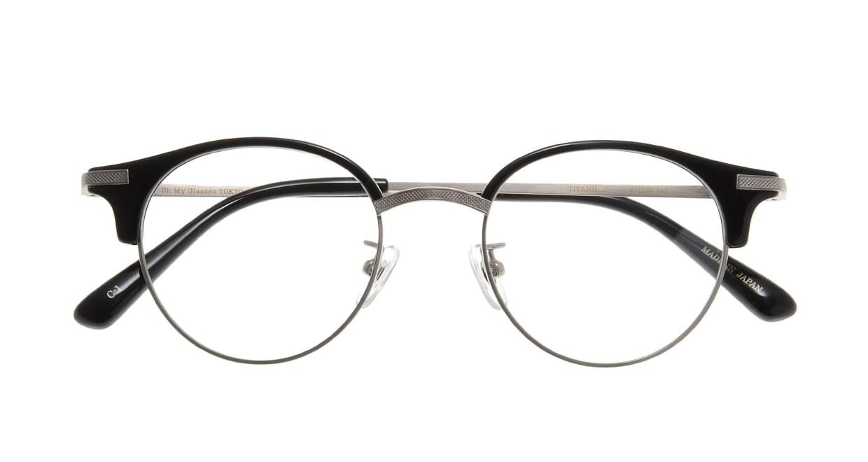Oh My Glasses TOKYO Eric omg-042 1-47 [黒縁/鯖江産/丸メガネ]  3