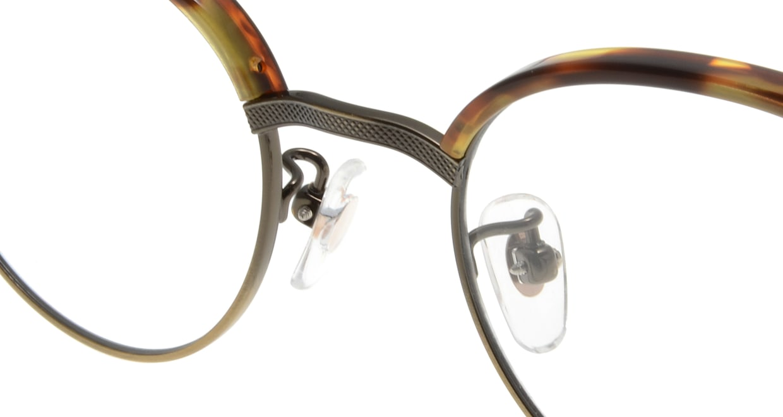 Oh My Glasses TOKYO Eric omg-042 2-47 [鯖江産/丸メガネ/べっ甲柄]  4