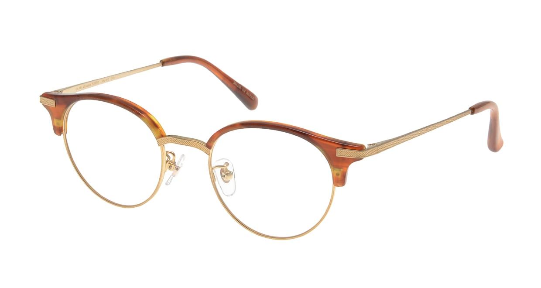 Oh My Glasses TOKYO Eric omg-042 3-47 [鯖江産/丸メガネ/茶色]