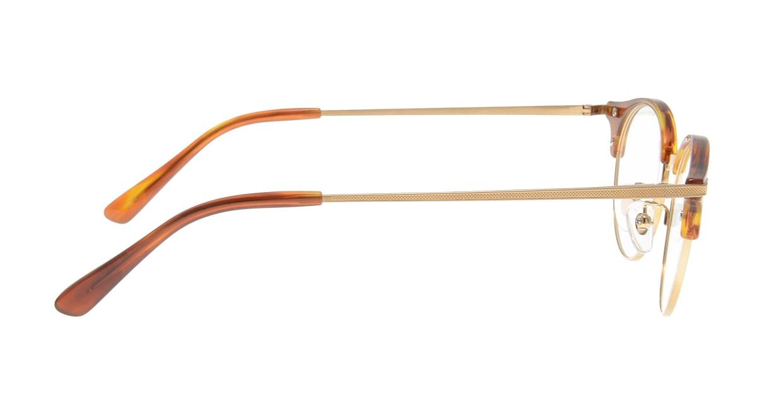 Oh My Glasses TOKYO Eric omg-042 3-47 [鯖江産/丸メガネ/茶色]  1
