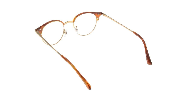 Oh My Glasses TOKYO Eric omg-042 3-47 [鯖江産/丸メガネ/茶色]  2