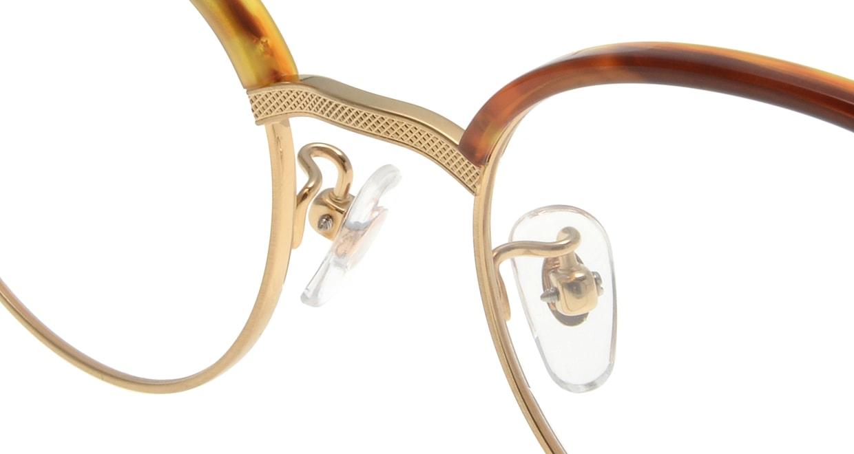 Oh My Glasses TOKYO Eric omg-042 3-47 [鯖江産/丸メガネ/茶色]  4