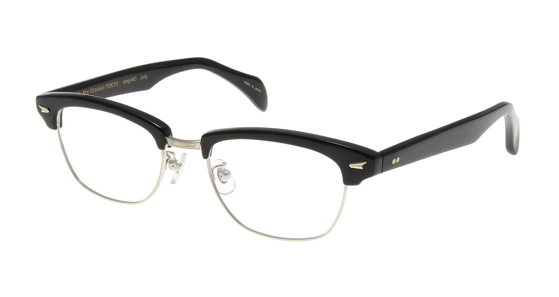 Oh My Glasses TOKYO Jodie omg-043 1-50 [黒縁/鯖江産/ウェリントン]