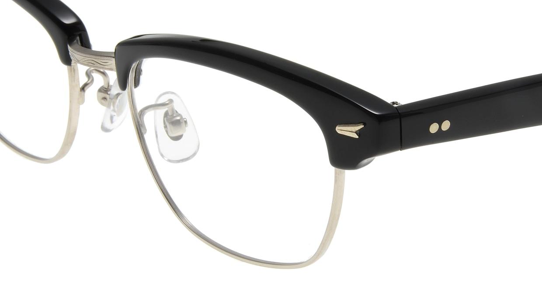 Oh My Glasses TOKYO Jodie omg-043 1-50 [黒縁/鯖江産/ウェリントン]  4