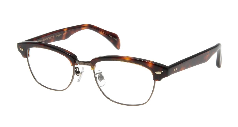 Oh My Glasses TOKYO Jodie omg-043 2-50 [鯖江産/ウェリントン/べっ甲柄]