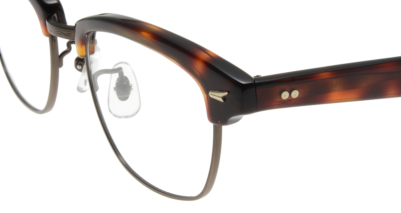 Oh My Glasses TOKYO Jodie omg-043 2-50 [鯖江産/ウェリントン/べっ甲柄]  4