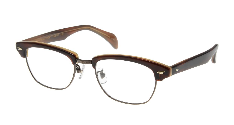 Oh My Glasses TOKYO Jodie omg-043 9-50 [鯖江産/ウェリントン/茶色]